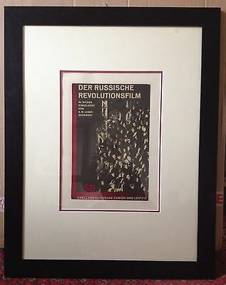RB Kitaj 1969 signed limited edition print Pop Art FRAMED large