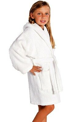 Turkish Terry Kids Bathrobes 100% cotton GREAT GIFT (many colors) unisex