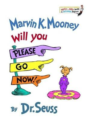 Brand New Kid's WILL YOU PLEASE GO NOW Dr Seuss - Fast Shipping