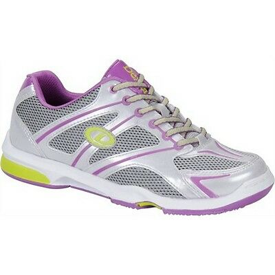 Women's Dexter Megan Purple/Silver/Lime Right Handed Bowling Shoes NEW