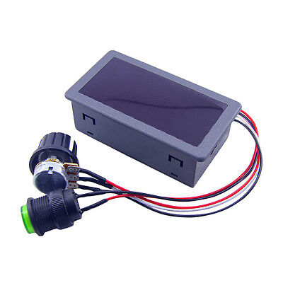 DC6-30V 12V 24V Max 8A Motor PWM Speed Controller With Digital Display Switch R&