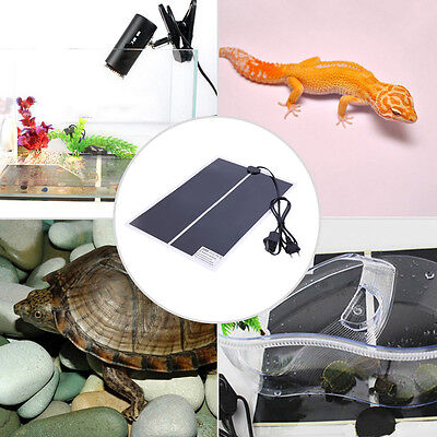 IR 20W Adjustable Temperature Heating Pad Mat for Reptile Amphibian Pet #F