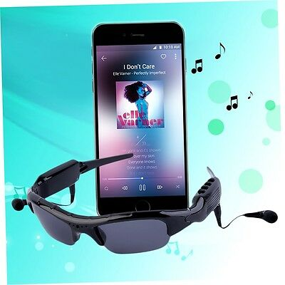 Bluetooth MP3 Sunglasses 720P HD Camera Photo Eyewear Video DV w/Earphone GH