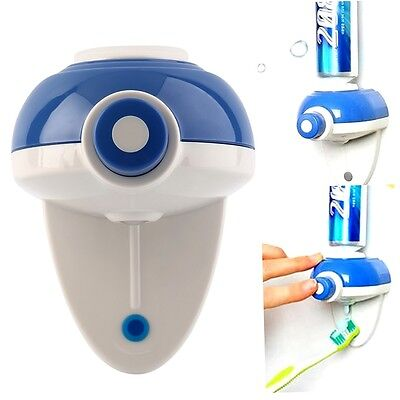Automatic Press Button Hand Touch Toothpaste Dispenser Easy Squeezer Wall AI