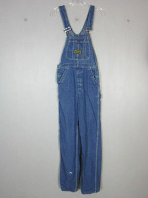 Vtg 1970s womens jeans 70s WASHINGTON DEE CEE SANFORIZED OVERALLS 28x34 denim