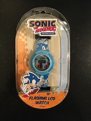 Sonic the Hedgehog Collector's Edition Flashing LCD Watch