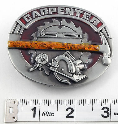 Carpenter Tradesman Belt Buckle    PBB