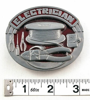 Electrician Tradesman Belt Buckle    PBB
