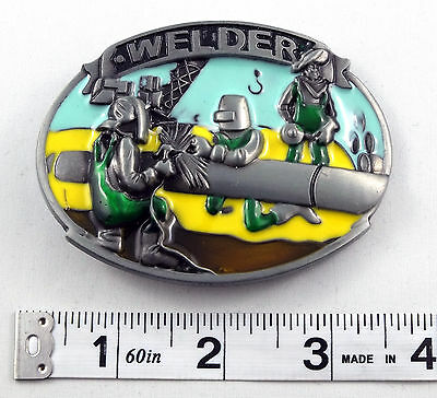 Welder Tradesman Belt Buckle    PBB