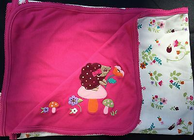 Gymboree Happy Hedgehog Blanket ~ Nwt ~ Rare ~ Vintage