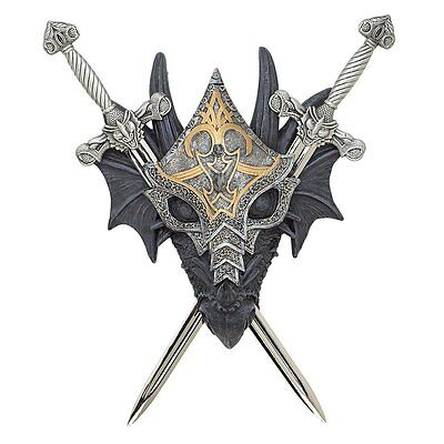 Wall Mount Skyrim Dragon Slayer Dragons Dungeons Gaming Decor Game Collection US
