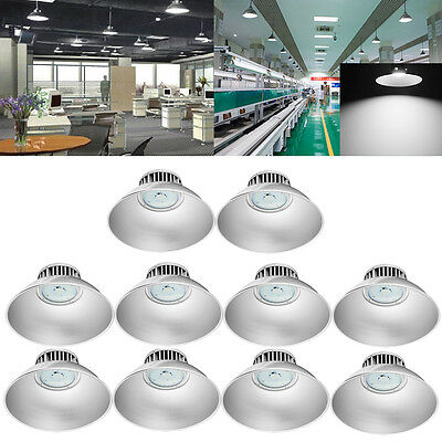 10X100W LED High Bay Light Industrial Factory Warehouse Commercial Shed light