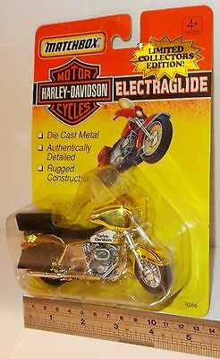 Matchbox Motor Cycles - Harley-Davidson, Electraglide - Sealed Pack. (Vintage)