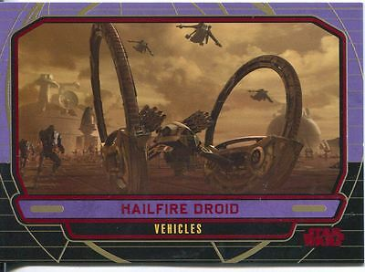 Star Wars Galactic Files Red Parallel #256 Hailfire Droid