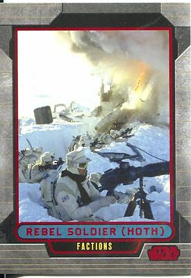 Star Wars Galactic Files Red Parallel #339 Rebel Soldier (Hoth)