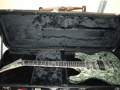 ESP Custom USA MADE Snake Skin Guitar!!
