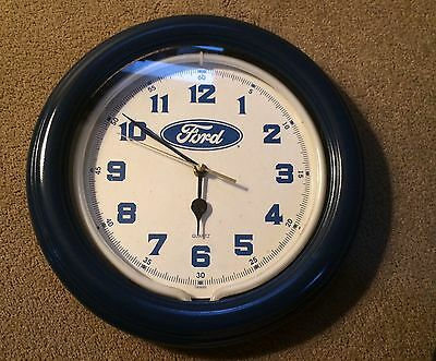 Vintage Ford Clock / Light  Garage Auto Taiwan
