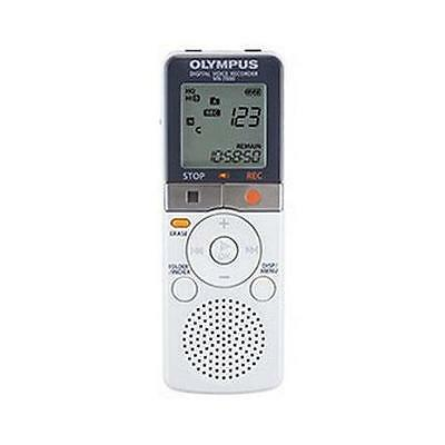 Olympus VN7800 Digital Voice Recorder Non PC 4GB Storage Capacity White - New