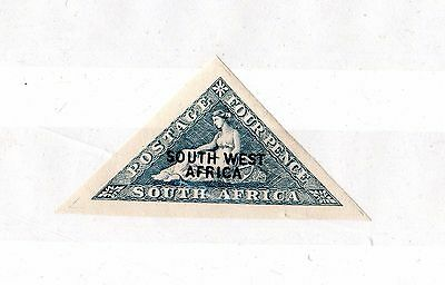 South West Africa 1926 4d Triangle Mint X6510