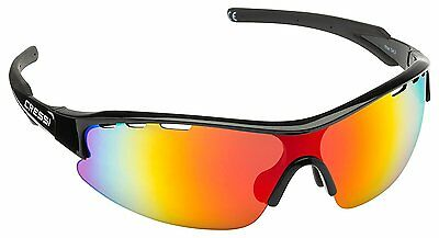 Cressi Vento Sports Sunglasses Black/Orange Lens
