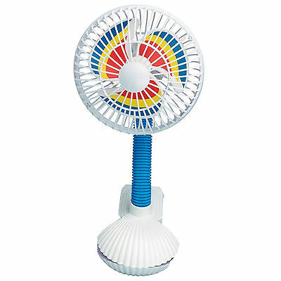Pinwheel Buggy Fan | Fan to fit on your Pushchair or Pram | Baby & Infant Fan