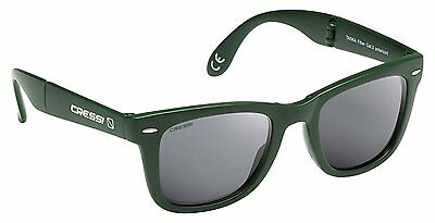 Cressi Taska Sports Sunglasses Green/Mirrored Lens Grey