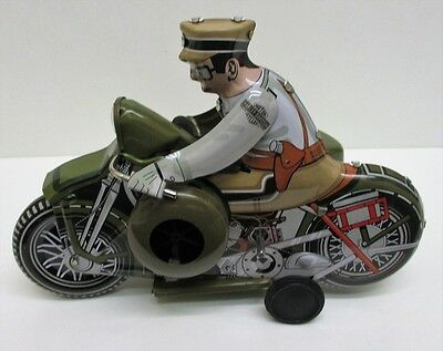 Xonex International 1950's Tin Toy Replication - 9029 - Harley Davidson Cycles