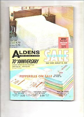 Aldens summer sale catalog 1959