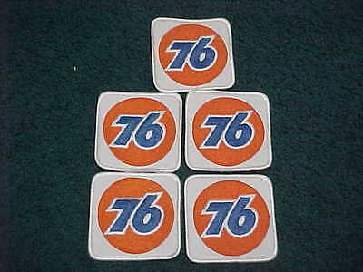 Lot of 5  76 Gas Station Embroidered Patches   FREE SHIPPING