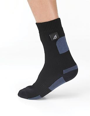Sealskinz Walking Socks - Black - Size Small (UK 3 - UK 5)