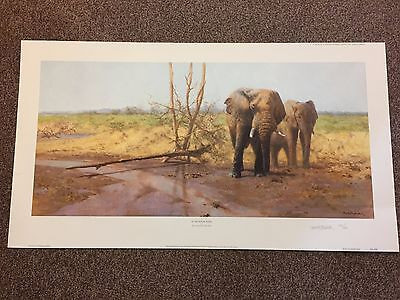 'in The Masai Mara' By David Shepherd   Hand Signed Limited Edition