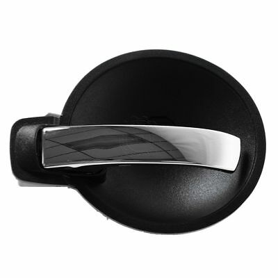 Door Handle Inner Black & Chrome Front or Rear Driver Side LH for Charger Magnum