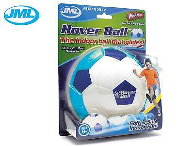 JML Hover Ball Soft Indoor Foam Floating Football Fun With Glide Kids Blue