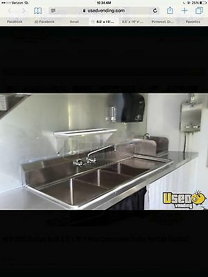 Mobile Kitchen Trailer one year old rarely used 18 feet X8.5 feet Latch Key