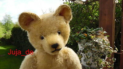 ADORABLE ANTIQUE MOHAIR TEDDY BEAR 30s **