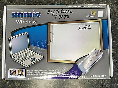 mimio Wireless Module for Xi Model DMA-02-03M Virtual Ink System in Box - Mint