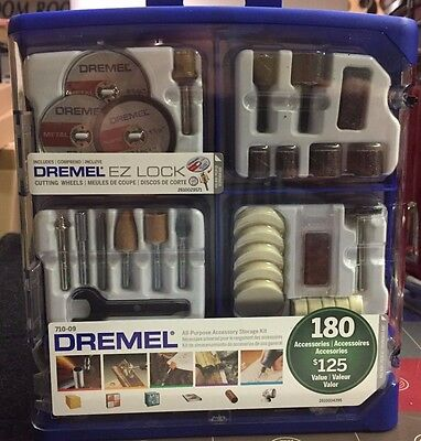 Dremel 710-09 180 Pc. All-Purpose Rotary Accessory Kit #2401453