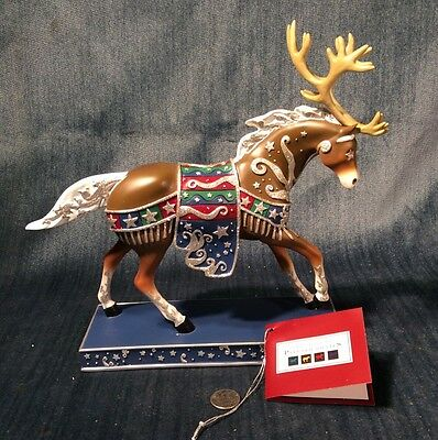 Retired Trail of the Painted Ponies NIB. First Edition Reindeer Roundup 1E/3.634