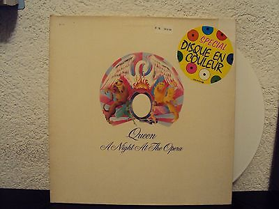 QUEEN - A night at the opera          ***White Vinyl***
