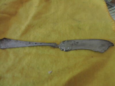 Vintage Coin Silver Handcrafted Butter Knife
