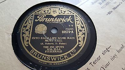 The Ink Spots With Ella Fitzgerald Into Each Life Some Rain Must Fall 03573