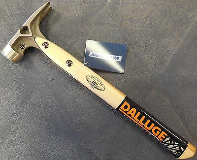 DALLUGE 07182 7182 16oz. Smooth Face Douglas Pattern Titanium Hammer, NEW