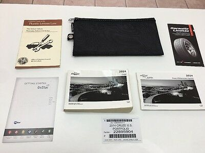 Chevrolet Cruze  2014 Owners Manual Books / NAVIGATION In  Pouch