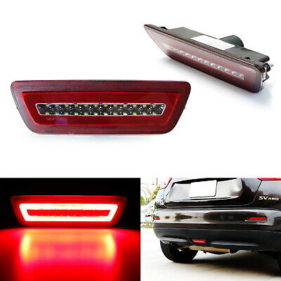 Red Lens 3-In-1 LED Rear Fog Light Kit (Tail/Brake) For Nissan Juke Rogue Murano