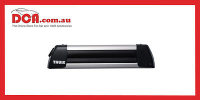 Thule Deluxe 740 3 Ski Carrier or 2 Snow Board & Fishing Rod Holder