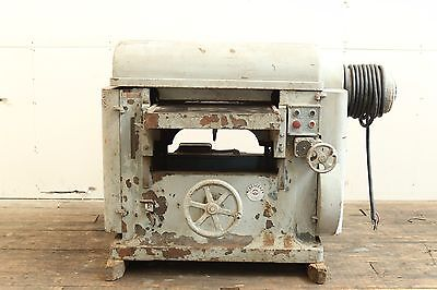 """Crescent 24""""x8"""" wood thickness planer w/ knife grinder 4 blade vari speed infeed"""