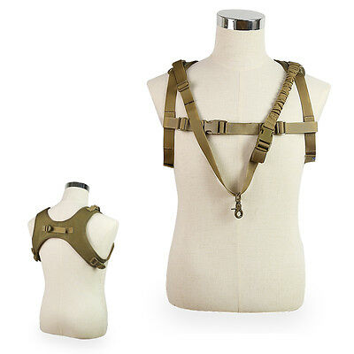 Strong Tactical Military Army Vest Strap Socket Multifunction Camouflage Unisex