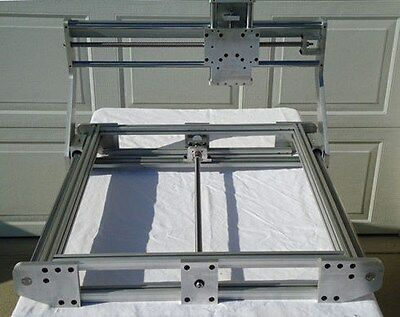 """CNC Router Mill Engrave 24""""x24"""" Milling Area"""