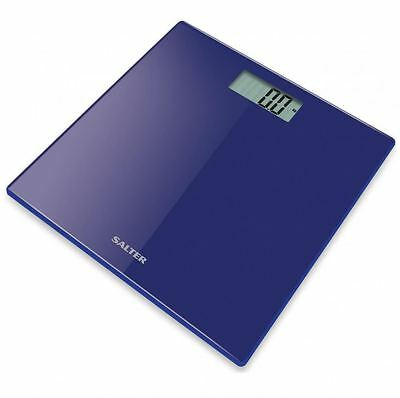 Salter Ultra Slim Glass Bathroom Scales Electronic Digital Personal Body Weight