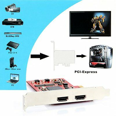 YK762H HDMI Definition Video Equipments PCI-E HDMI Video Capture Card for PC TV